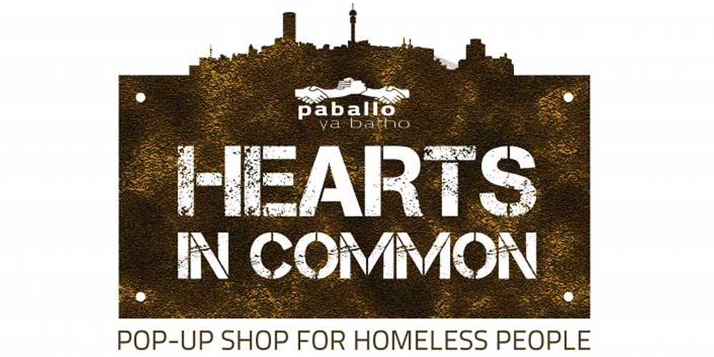 Pop Up Shop for the homeless
